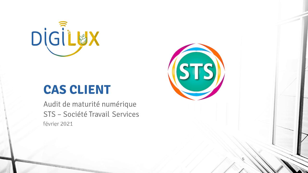 DIGILUX aide STS à structurer sa démarche numérique