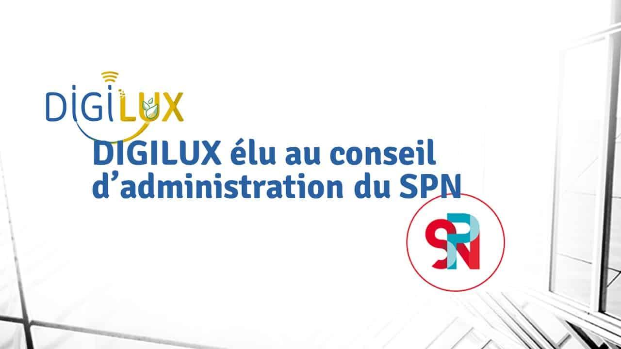 DIGILUX au conseil d'administration du SPN